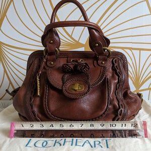 Lockheart Bags - Lockheart Satchel Handbag in brown 920420cf35de2
